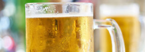 Picture of a glass with beer