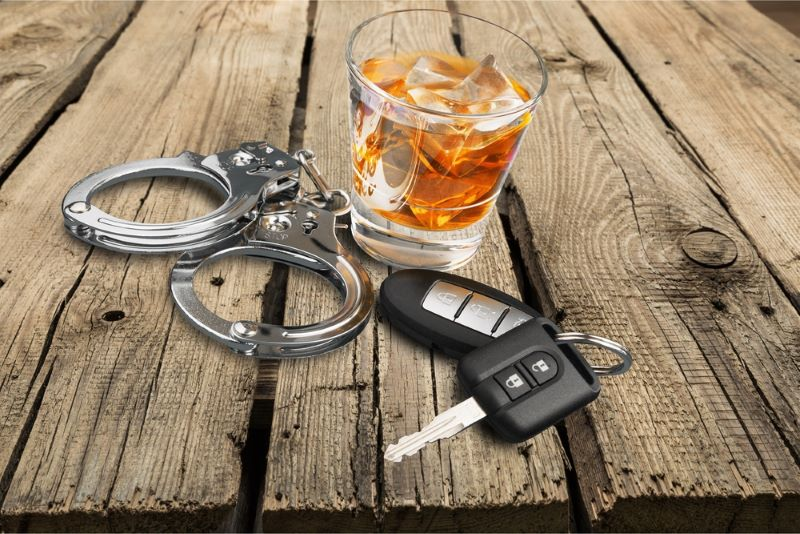 man arrested on dui charges